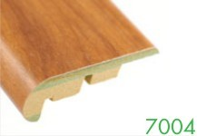7104 12-14 mm MDF Wood Grain Stair Edge Molding by Loxcreen