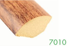 7010 6-9 mm Quarter Round MDF Wood Grain Molding by Loxcreen