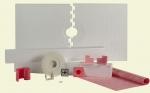 Loxcreen 32 x 60 Prova Shower Kit Center Drain for Tile Waterproofing
