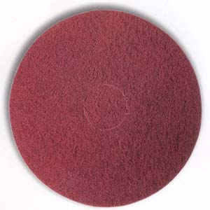 Maroon Between Coats Floor Finishing Pad by Mercer Abrasives