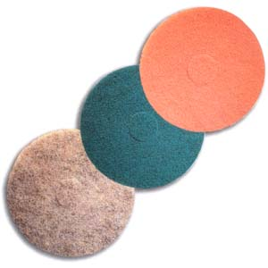 Rose Ultra High Speed Floor Maintenance Pad by Mercer Abrasives