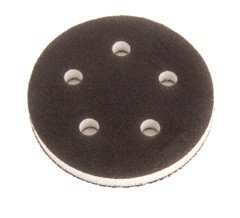 1055Y 5 Inch 5 Hole Grip Faced Interface Pad by Mirka Abrasives