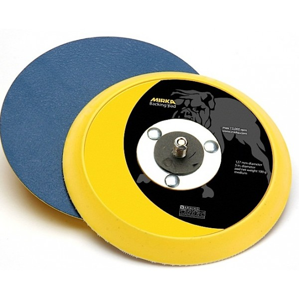 105  5 Inch 5 16x24 Spindle Vinyl-Faced PSA Backup Pad by Mirka Abrasives