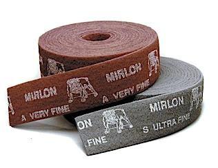 Mirlon 4 Inch x 33 Foot Scuff Roll by Mirka Abrasives
