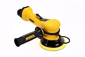 MR-510THCV 5 Inch Two-Handed Central Vacuum Finishing Sander by Mirka Abrasives