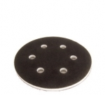 Mirka 1066 6 Inch 6 Hole Hook n Loop Interface Pad 1 2 Inch Thick