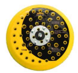 916GV Backing Pad 6 Inch 51 Holes Grip Faced Hook n Loop by Mirka Abrasives