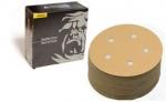 Mirka Gold 5 Inch 5 Hole Vacuum Hook n Loop 100 - 400 Grit Discs