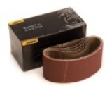 Hiolit-X 3 x 24 Cloth Sanding Belt 40-150 Grit 10 per Box