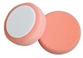 8 Inch Orange Flat Foam Polishing Pad by Mirka Abrasives