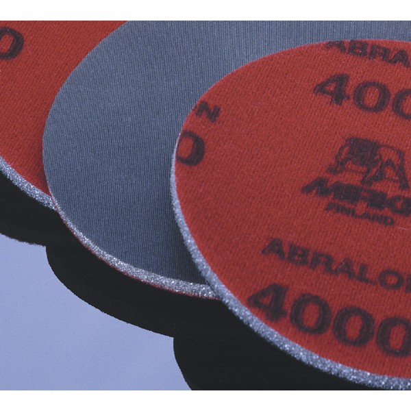 Abralon 6 Inch Foam Hook n Loop 180 to 4000 Grit Sanding Discs by Mirka Abrasives