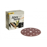 Abranet HD 6 Inch 15 Hole Hook n Loop 40-60-80 Grit Sanding Discs