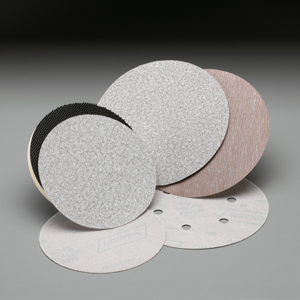 A275 NorGrip 6 Inch 6 Hole Vacuum Discs Grits 80 - 800 by Norton Abrasives