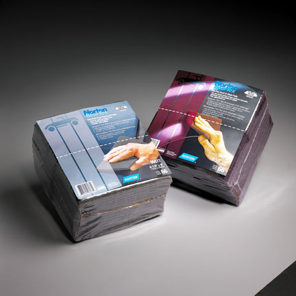 BearTex Thin Flex Scuff Pads 4 1 2 x 9 Inch by Norton Abrasives
