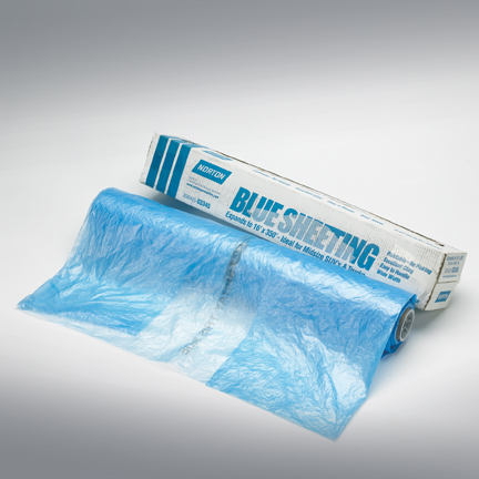 Blue Sheeting 3 Layer Paintable Sheeting by Norton Abrasives