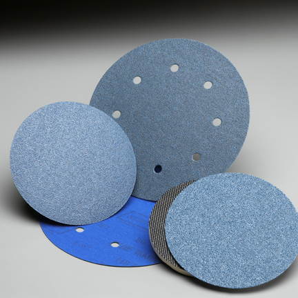 BlueMag NorGrip Hook and Loop 5 Inch Discs Grits 40 and 80 by Norton Abrasives