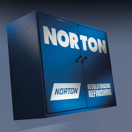 Autobody Utility Cabinet by Norton Abrasives