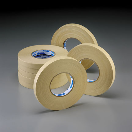 Tan Premium Masking Tape 110m Double Roll by Norton Abrasives