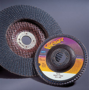 Charger R822 Flap Discs 4 1 2 x 5 8 Inch by Norton Abrasives