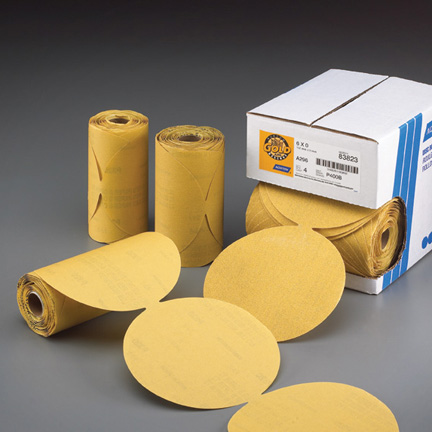 Gold Reserve PSA 100 Disc Roll 6 Inch Discs Grits 80 - 600 by Norton Abrasives