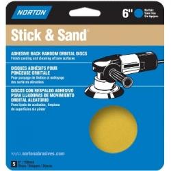 Norton Stick   Sand P40 4 Discs per pack 076607 48911  4 Discs Pack