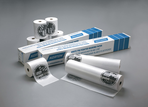 Norton Paint Check White Premium Masking Paper 750 Foot Roll