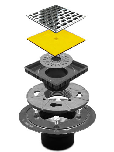 PSC Pro Shower Clamping Drain Kit by Pro-Source Center