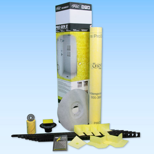 Pro Advanced Custom Tile Mud Kit up to 30 x 60 Center in PVC or ABS by Pro-Source Center