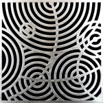 PSC Pro Stainless Steel Drain Grate Cover - Ripples Design