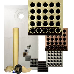 Pro Advanced Waterproofing 32 x 60 Offset Drain Tiled Shower Kit  by Pro-Source Center