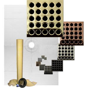 Pro Advanced waterproofing 48 x 72 Custom Tiled Shower Kit  by Pro-Source Center