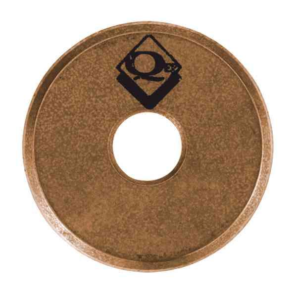 10117 Titanium Coated Tungsten Carbide Cutting Wheel 7 8 Inch by QEP