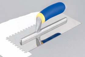 Vitrex Stainless Steel Notched Floor Trowels by QEP