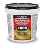 1800 Vinyl Sheetgoods Embossing Leveler 1 Quart by Roberts