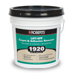R8000 replaces 1920 Lift Off Carpet and Adhesive Remover by Roberts