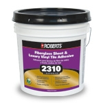 Roberts 2310 Superior Fiberglass Sheet and Vinyl Adhesive 1 Gallon