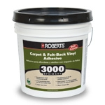 Roberts 3000 Primary Carpet and Felt Back Vinyl Adhesive