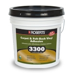 Roberts 3300 Superior Carpet and Felt Back Vinyl Adhesive