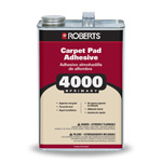 4000 Preferred Carpet Pad Adhesive 1 Gallon by Roberts
