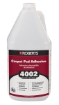Roberts 4002 Carpet Pad Adhesive Solvent Free 1 Gallon