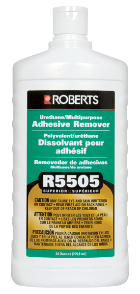 R5505 Superior Urethane Multipurpose Adhesive Remover 24oz by Roberts