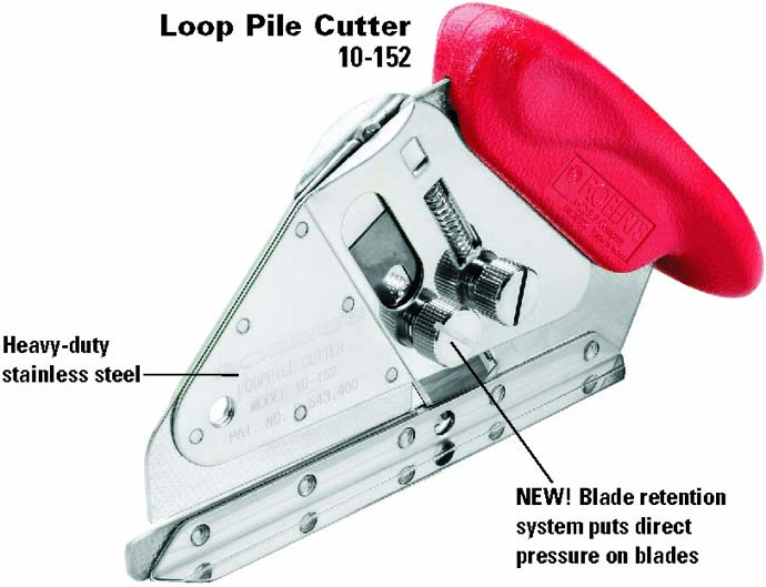 10-152-3 Loop Pile Carpet Cutter by Roberts