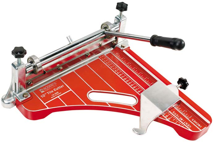 10-900 12 Inch Vinyl Tile Cutter by Roberts
