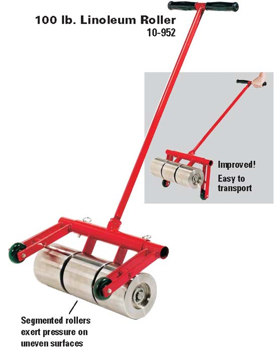10-952 Heavy Duty Linoleum - Carpet Roller 100 lb by Roberts