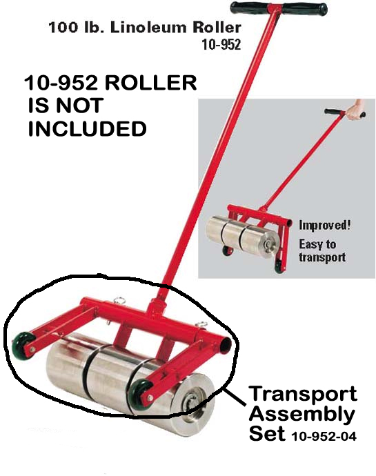 10-952-04 Transport Wheel Assembly for HD Rollers by Roberts