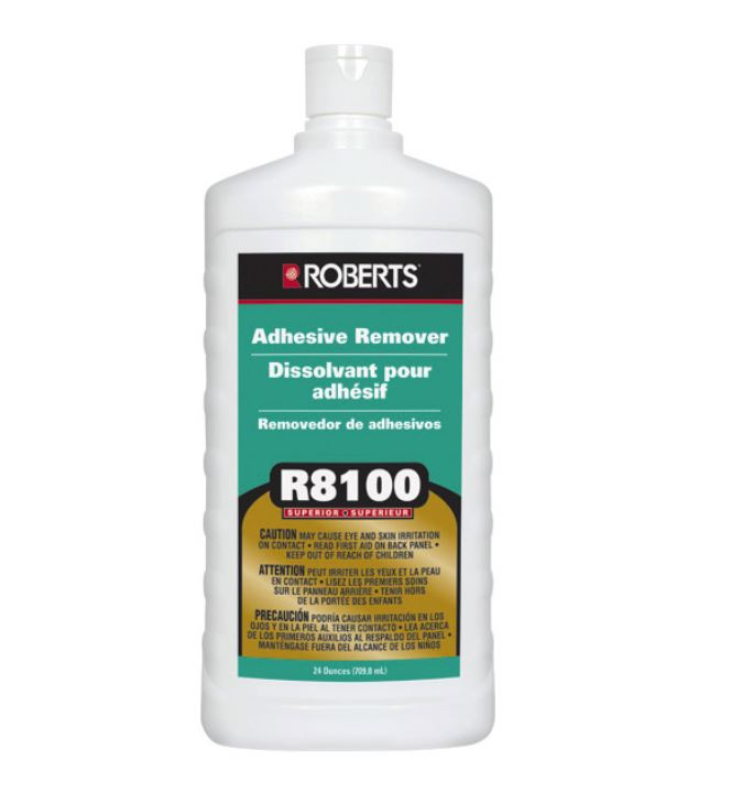 Preferred Adhesive Cleaner R8100 replaces 1912 by Roberts