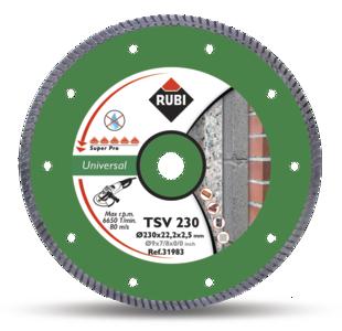 Turbo TSV General Purpose Diamond Blade by Rubi