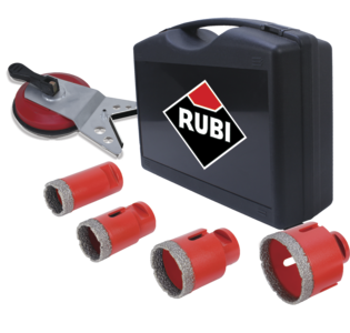 Kit with Drilling Guide by Rubi