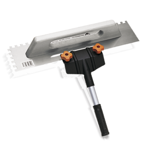 Accessories for Trowels and Jagged Trowels by Rubi