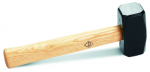Rubi Square Mallet Wooden Handle